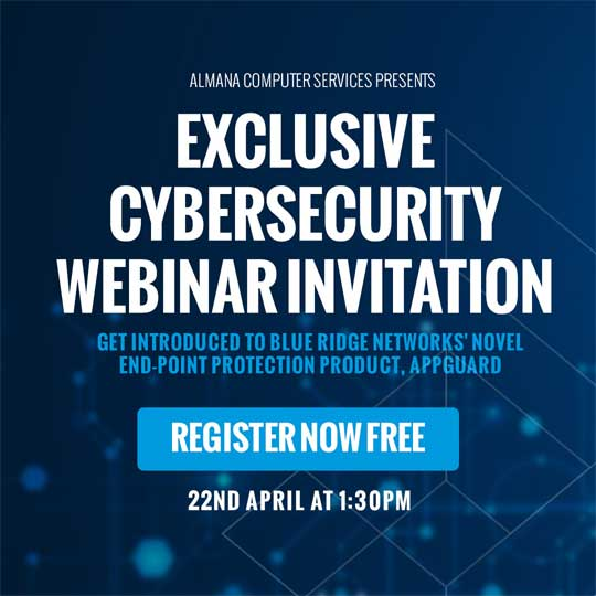 Cyber Security Webinar – 22 April 2020 at 1:30 PM (GMT+3): Beat ZERO-DAY MALWARE with the finest prevention product available