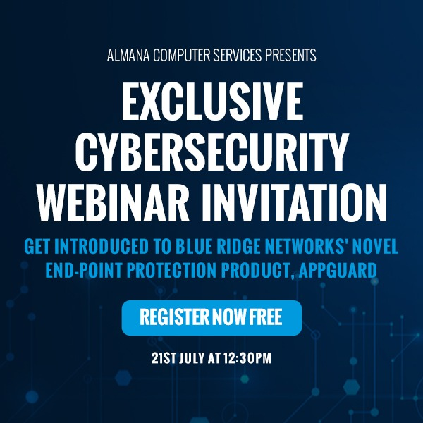 Cyber Security Webinar – 21 July 2020 at 12:30 PM (GMT+3): Beat ZERO-DAY MALWARE with the finest prevention product available
